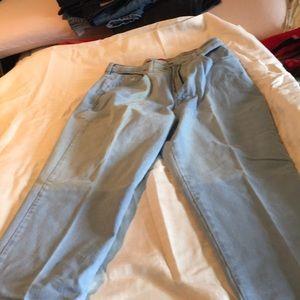 Gloria Vanderbilt light blue straight leg jean